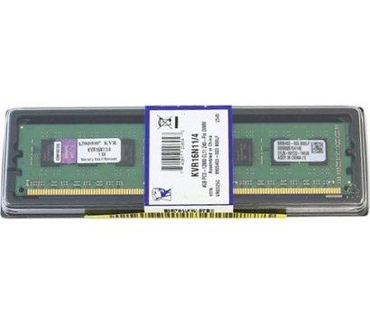 Фото модуля памяти Kingston DDR3 4096M 1600MHz Kingston — kvr16n11/4