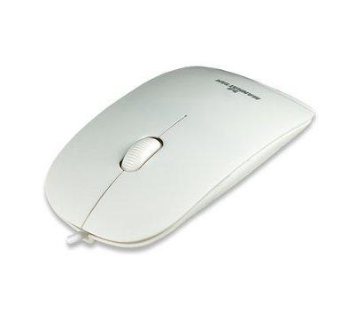 Фото компьютерной мышки Intracom Manhattan Silhouette Optical Mouse USB White — 177627