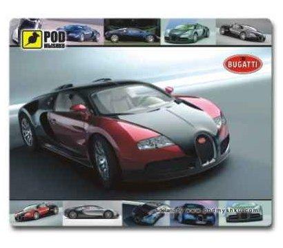 Фото коврика для мыши Podmyshku Bugatti
