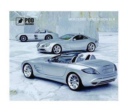 Фото коврика для мыши Podmyshku Mercedes-Benz Vision SLR