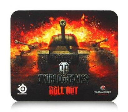 Фото коврика для мыши SteelSeries QcK World of Tanks Edition - 67269