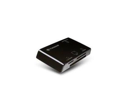 Фото картридера Transcend All in1 Multi Card-reader Black - TS-RDP8K