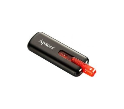 Фото USB флешки Apacer AH326 USB 2.0 8GB Black- AP8GAH326B-1