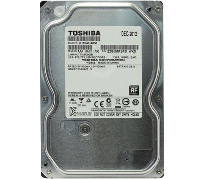 Фото жесткого диска Toshiba 500GB 7200rpm 32MB DT01ACA050 3.5 SATA III