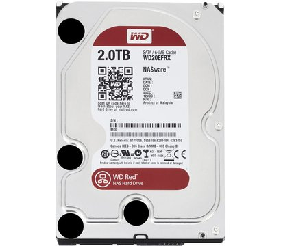 Фото жесткого диска Western Digital Red 2TB 7200rpm 64МB 3.5 SATA III — WD20EFRX