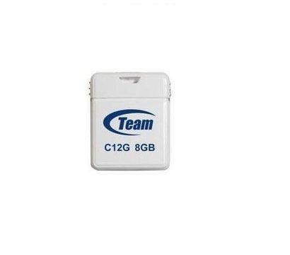 Фото USB флешки Team C12G White 8GB USB2.0 — TC12G8GW01