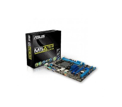 Фото материнской платы Asus M5A78L-M LX3 (AM3+, AMD 760G, PCI-Ex16)