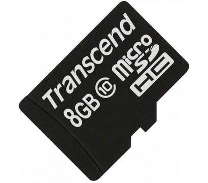 Фото карты памяти Transcend microSDHC Class10 8GB - TS8GUSDC10