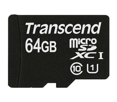 Фото карты памяти Transcend Ultra UHS-I microSDXC 16GB Class 10 - TS64GUSDU1