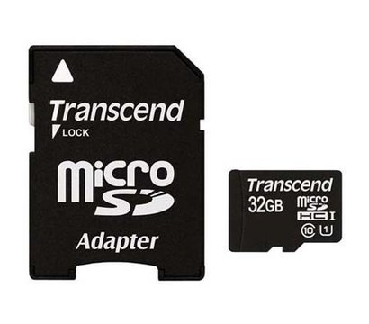 Фото карты памяти Transcend Ultra UHS-I microSDHC Class 10 32GB + SD адаптер - TS32GUSDU1