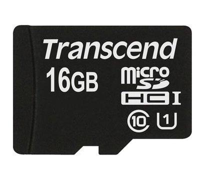 Фото карты памяти Transcend Premium microSDHC Class 10 16GB - TS16GUSDCU1