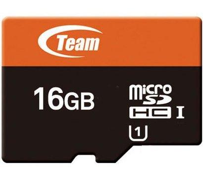 Фото карты памяти Team UHS-1 microSDHC Class10 16GB + SD адаптер - TUSDH16GUHS03
