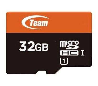 Фото карты памяти Team UHS-1 microSDHC Class10 32GB + SD адаптер - TUSDH32GUHS03