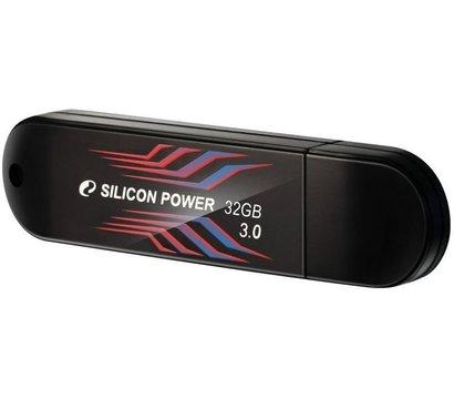 Фото USB флешки Silicon Power Blaze B10 Black 32GB USB3.0 — SP032GBUF3B10V1B