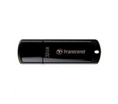 Фото USB флешки Transcend JetFlash 350 Black 32GB USB2.0 — TS32GJF350