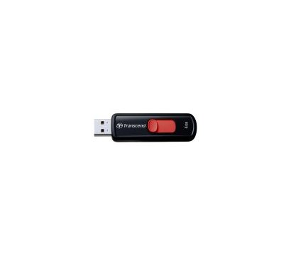 Фото USB флешки Transcend JetFlash 500 Black 4GB USB2.0 — TS4GJF500