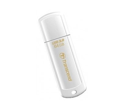 Фото USB флешки Transcend JetFlash 730 White 64GB USB3.0 — TS64GJF730