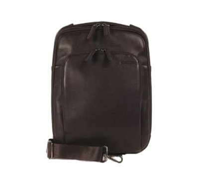 Фото сумки для ноутбука Tucano One Premium shoulder bag 10` Brown — BOPXS-M