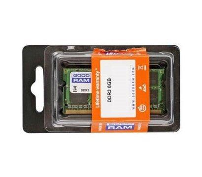 Фото модуля памяти Goodram SoDIMM 8192M DDR3 - 1600 Goodram, Retail — GR1600S364L11/8G