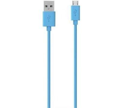 Фото товара Кабель USB 2.0 Belkin AM-microB MIXIT 2 м — F2CU012bt2M-BLU