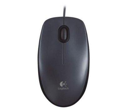 Фото компьютерной мышки Logitech M90 USB Black — 910-001794