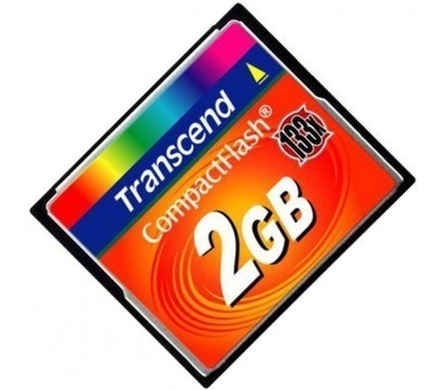 Фото карты памяти Transcend CompactFlash 133x 2GB - TS2GCF133