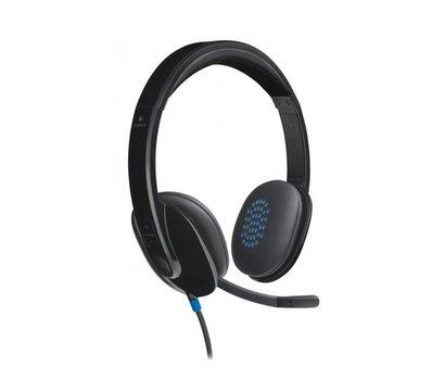 Фото наушника Logitech H540 Headset USB — 981-000480