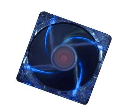 Фото охлаждения Xilence Casefan Transparent blue LED 120mm — COO-XPF120.TBL