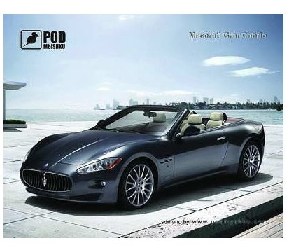 Фото коврика для мыши Podmyshku Maserati Gran Cabrio