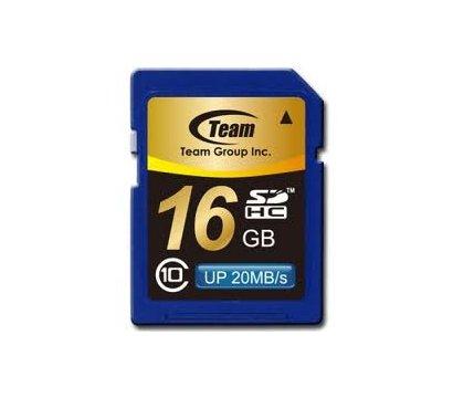 Фото карты памяти Team SDHC Class 10 16GB - TSDHC16GCL1001