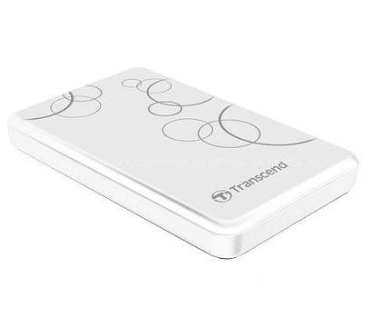 Фото жесткого диска Transcend StoreJet 25A3 1TB 5400rpm 2.5 USB 3.0 External White — TS1TSJ25A3W