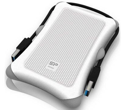 Фото жесткого диска Silicon Power Armor A30 1TB 5400rpm USB 3.0 External White — SP010TBPHDA30S3W