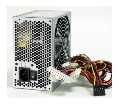 Фото блока питания для ПК ATX 450W LogicPower (без кабеля питания)