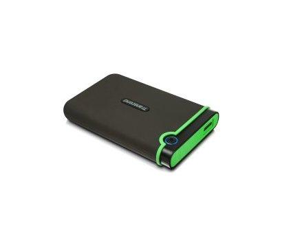 Фото жесткого диска Transcend StoreJet 25M2 1TB 5400rpm 2.5 USB 3.0 External Black/Green — TS1TSJ25M3