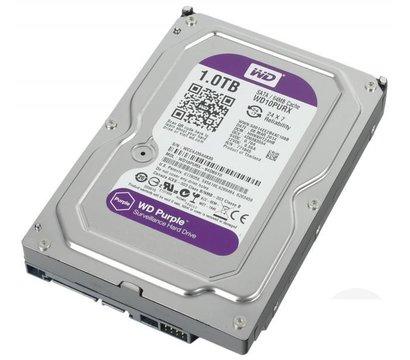 Фото жесткого диска Western Digital Purple 1TB 64МB 3.5 SATA III — WD10PURX