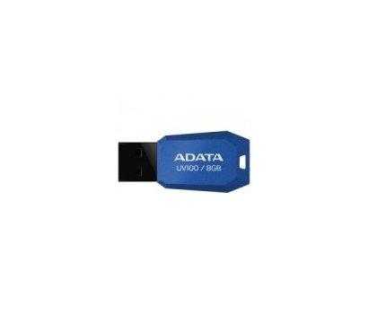 Фото USB флешки A-Data Drive UV100 8GB 2.0 USB Blue - AUV100-8G-RBL