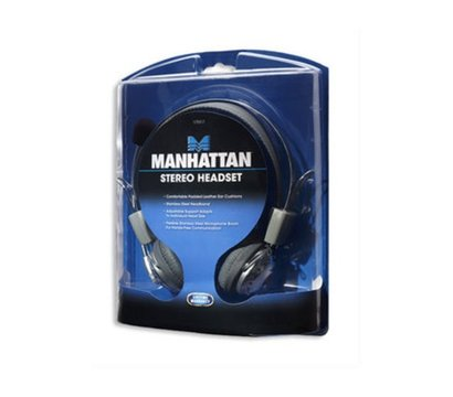 Фото наушника Intracom Manhattan Headset Stereo Silver — 175517