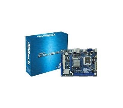 Фото материнской платы ASRock G41M-VS3 R2.0 (s775, Intel G41/ICH7, PCI-E x16)