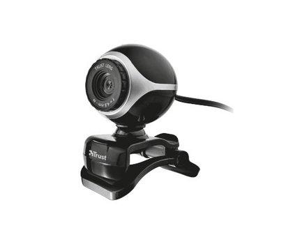 Фото веб-камеры Trust Exis Webcam Black-Silver - 17003
