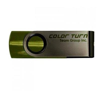 Фото USB флешки Team Color Turn 16GB USB 2.0 Green - TE90216GG01