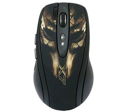 Фото №1 компьютерной мышки A4Tech XL-750BH bronze mask USB
