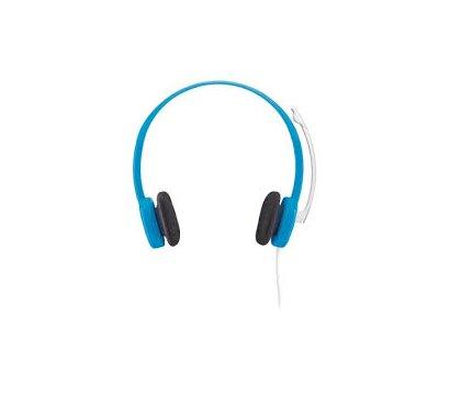 Фото №1 наушника Logitech Headset H150 Sky Blue — 981-000368