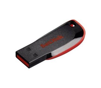 Фото №1 USB флешки SanDisk Cruzer Blade Black 32GB USB2.0 — SDCZ50-032G-B35
