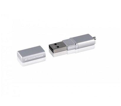 Фото 3 Silicon Power LUX mini 710 Silver 16GB USB 2.0 - SP016GBUF2710V1S