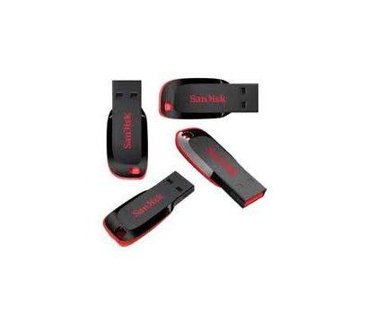Фото №2 USB флешки SanDisk Cruzer Blade Black 16GB USB2.0 — SDCZ50-016G-B35
