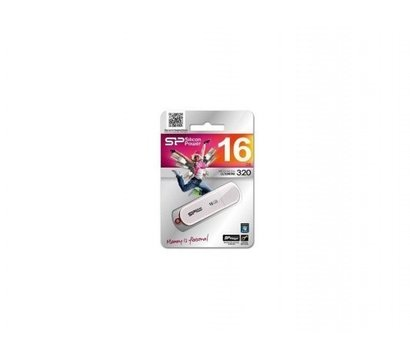 Фото №2 USB флешки Silicon Power LuxMini 320 USB2.0 hite 16GB USB2.0 — SP016GBUF2320V1W