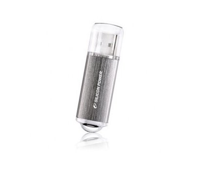 Фото №2 USB флешки Silicon Power Ultima II Silver 16GB USB2.0 — SP016GBUF2M01V1S