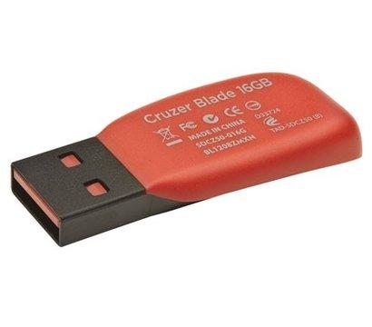 Фото №4 USB флешки SanDisk Cruzer Blade Black 16GB USB2.0 — SDCZ50-016G-B35