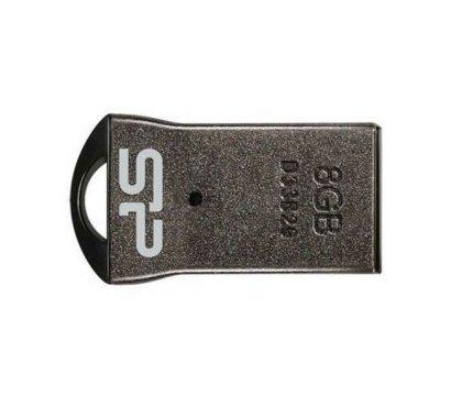 Фото №1 USB флешки Silicon Power Touch T01 Silver 8GB USB2.0 — SP008GBUF2T01V1K