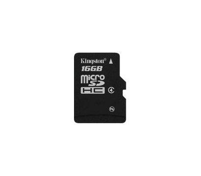 Фото №1 карты памяти Kingston microSDHC Class 4 16GB - SDC4/16GBSP